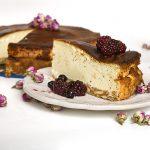 עוגת גבינה אפויה דלת קלוריות
