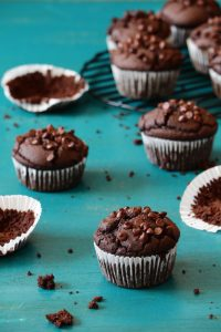 מאפין שוקולד ללא גלוטן וקמח